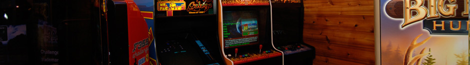 Gamerooms, Pinball, Slots, Video Games